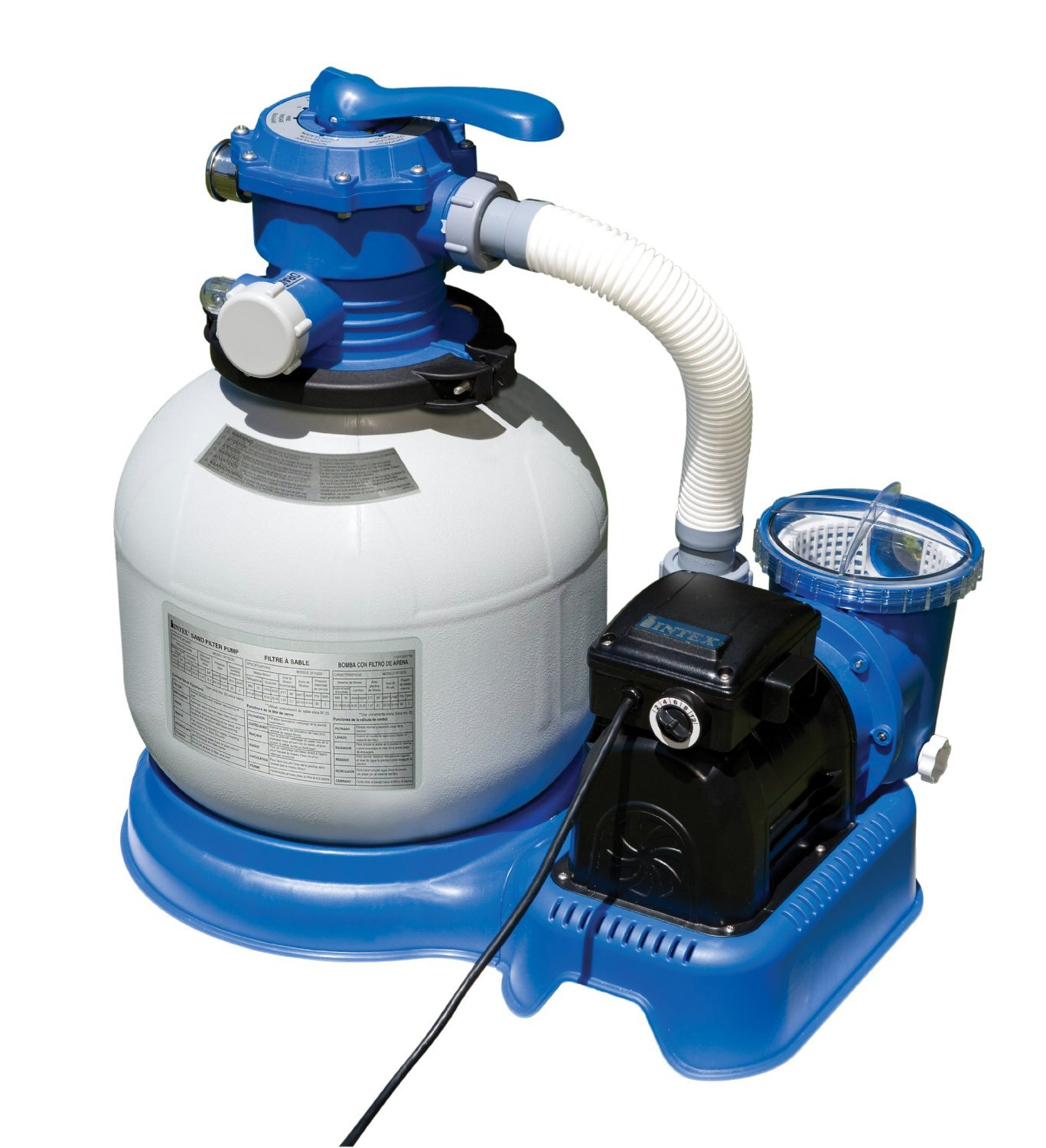 Intex 14 Inch Krystal Clear Sand Filter Pump Best Above