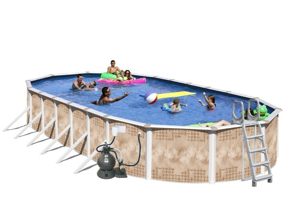 Splash Pools Oval Best Above Ground Pools