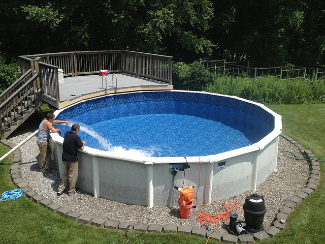Above Ground Pool Installation and Cost   Best Above Ground ...