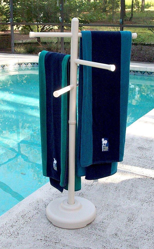 Top 5 Poolside Towel Racks For Your Outdoor Area Best
