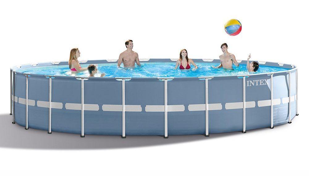 Intex 24×52 Prism Frame Pool Set – Best Above Ground Pools