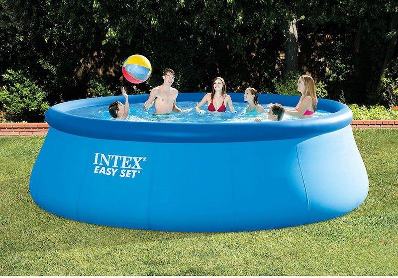 Intex easy set pool best above ground pools - Intex easy set pool 18 x 52 ...