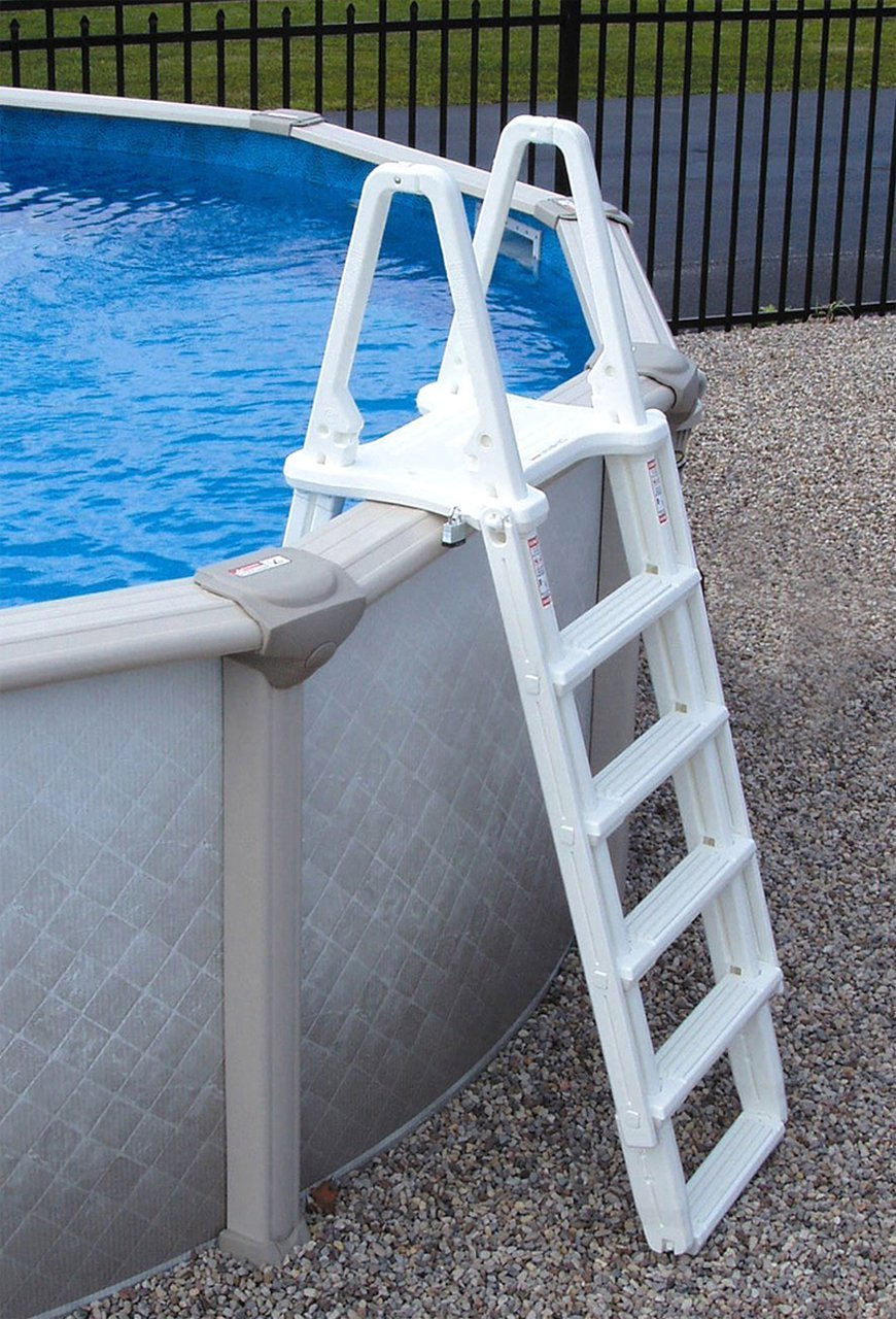 Blue Wave Simple Step 24 in Pool Step for Above Ground Pools