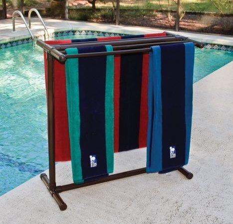 Portable Outdoor 5 Bar Towel Rack
