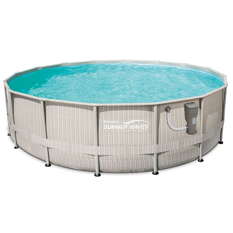 Summer Waves Pool Grey Best Above Ground Pools